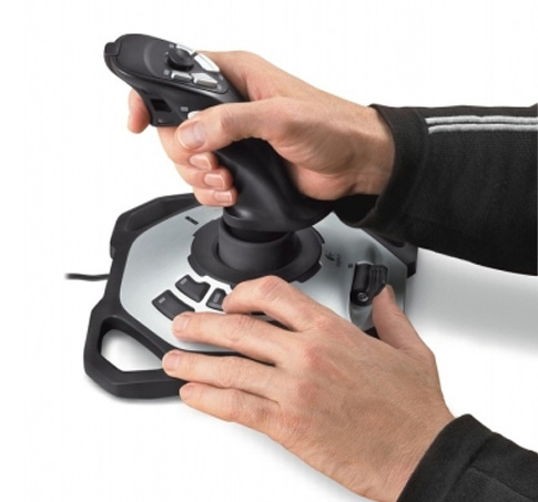 Logitech Extreme 3D Pro управление газом